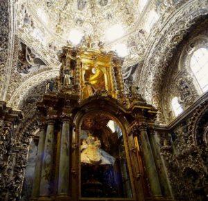 サント・ドミンゴ教会 プエブラ メキシコ ロサリオ礼拝堂 観光