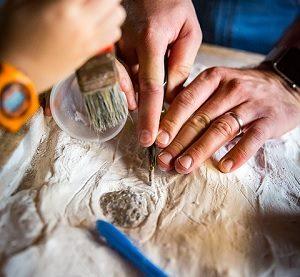 発掘 遺跡 出土 建設途中
