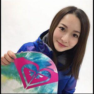 岩垂かれん かわいい 美女 美人 スノーボーダー スノーボード スノーボードクロス ハーフパイプ モデル