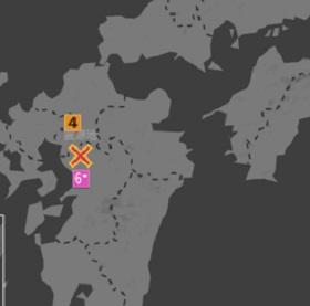 熊本地震 2019 震度6弱 前震 余震 2016年 震源地 本震まで 時間 まとめ 和水町 震度5弱 熊本北区 玉東町 震度4 荒尾市 玉名市 菊池市