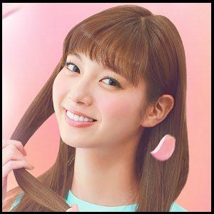 新川優愛 ビューティーラボ ホイップヘアカラー 髪色 髪染め